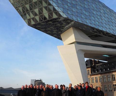 EGTC Rhine-Alpine in Antwerp