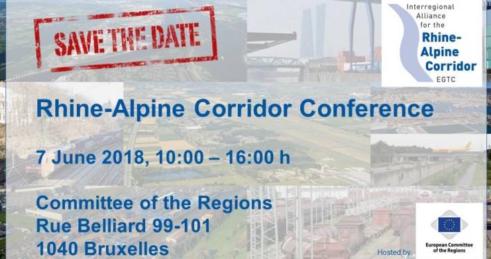 Rhine-Alpine Corridor Conference 7 June 2018