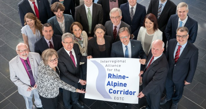 Founding Assembly Rhine-Alpine Corridor EGTC