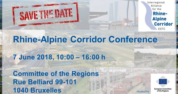 Rhine-Alpine Corridor Conference 7 June 2018